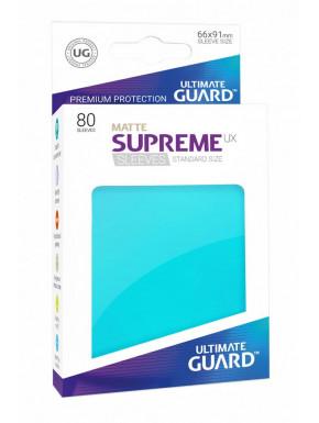Tarjetas separadoras para cartas tamaño estándar Ultimate Guard Aguamarina  Mate