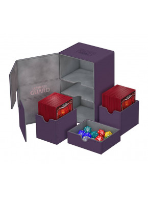 Caja Deluxe Cartas estándar Ultimate Guard 160 Morado