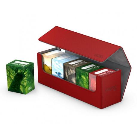 Caja de cartas estándar Ultimate Guard Rojo 400