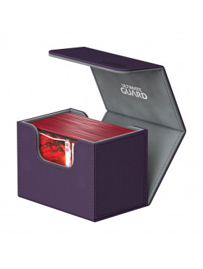 Caja para cartas estándar Morado Side Winder & Trade Ultimate Guard 80