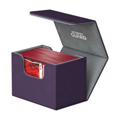 Caja para cartas estándar Morado Side Winder & Trade Ultimate Guard 80