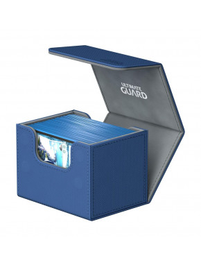 Caja para cartas estándar Azul Side Winder & Trade Ultimate Guard 100