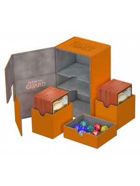 Caja Deluxe Cartas estándar Ultimate Guard 160 Naranja