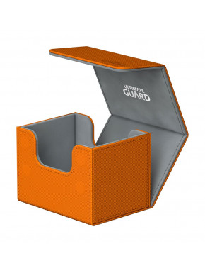 Caja para cartas estándar Naranja Side Winder & Trade Ultimate Guard 100