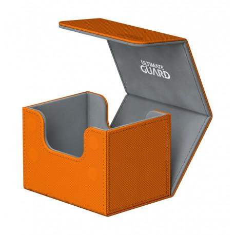 Caja para cartas estándar Naranja Side Winder & Trade Ultimate Guard 100