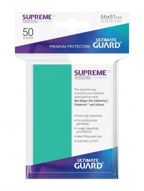 Fundas de cartas tamaño estándar Turquesa Ultimate Guard 50