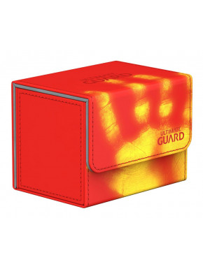 Caja para cartas estándar Rojo Side Winder & Trade Ultimate Guard 80