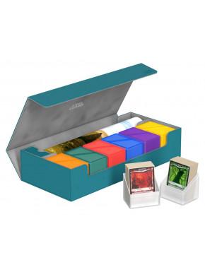 Caja Deluxe Cartas estándar Ultimate Guard 550 Verde Azulado