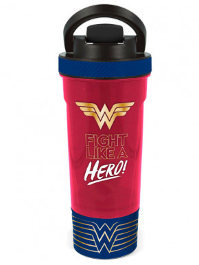 Botella Wonder Woman DC Fight Like a Hero