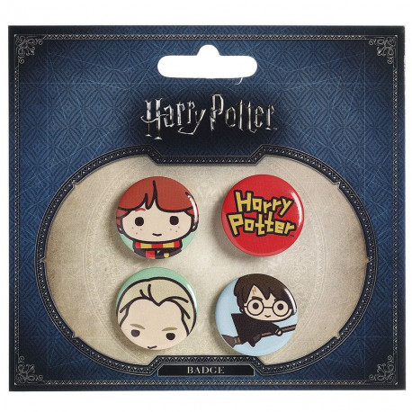 Pack Chapas Harry Potter Kawaii Personajes