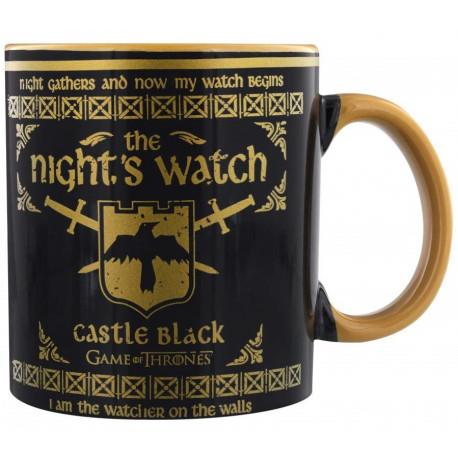 Taza Grande Guardia de la Noche Juego de Tronos