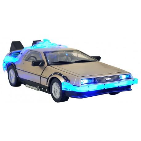 DeLorean Mark ii con luz y sonido regreso al futuro coche