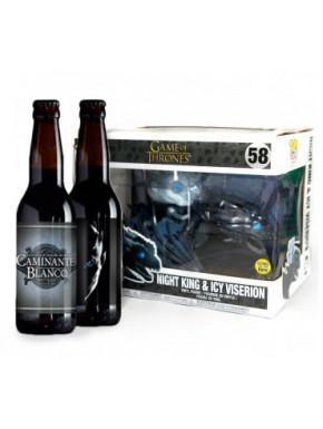 Pack Funko Beer Viserion y Rey de la Noche