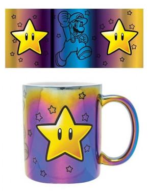 Taza Estrella Super Mario