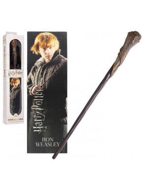Set de Varita y Marcapáginas Ron 30 cm Harry Potter