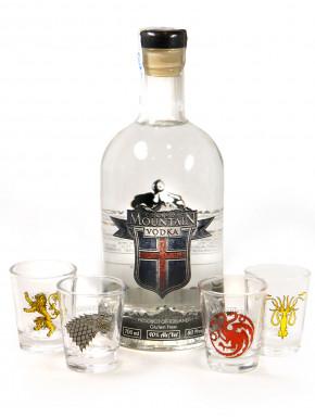 Pack Vodka de la Montaña  Juego de Tronos