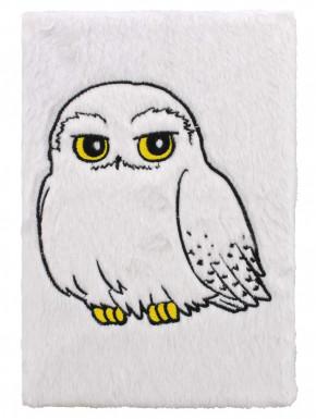 Libreta Peluche Hedwig Harry Potter