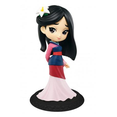 Figura Mulán Disney Banpresto Q Posket 14 cm