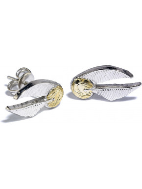 Pendientes Harry Potter golden Snitch