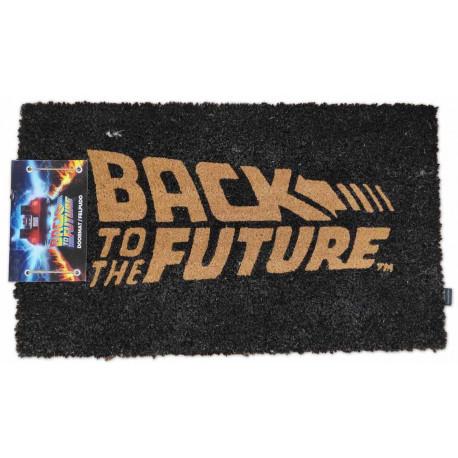 Felpudo Regreso al futuro Logo