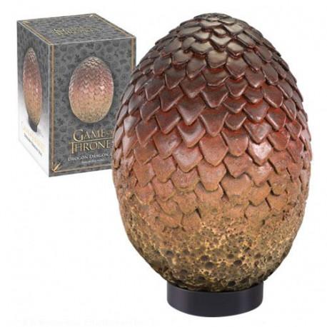 Réplica Huevo de Dragon Drogon 20 cm Juego de Tronos