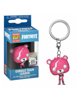 Llavero mini Funko Pop! Cuddle Team Leader Fortnite