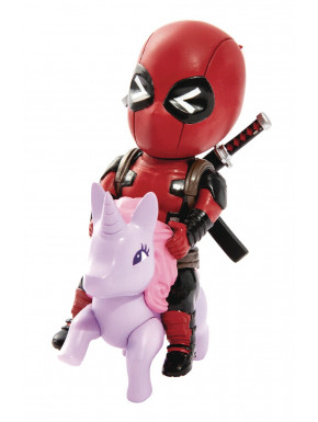 Figura Deadpool Unicornio Mini Egg Attack 9 cm
