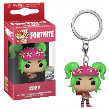Llavero mini Funko Pop! Zoey Fortnite
