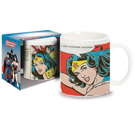 Taza I Am Wonder Woman DC Comics