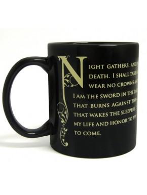 Taza juramento guardia de la noche Juego de Tronos