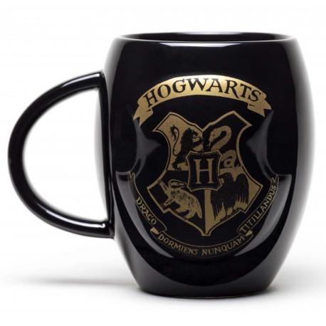 Taza Ovalada Hogwarts Harry Potter
