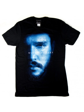 Camiseta Juego de Tronos Jon Snow Winter is Here