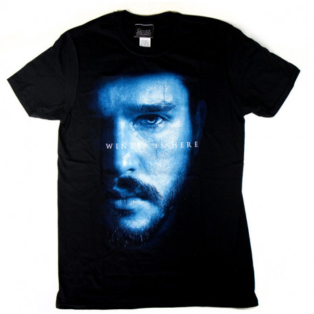 Camiseta Juego de Tronos Jon Snow Winter is Here