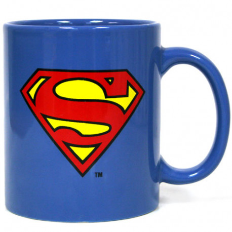 Taza Superman deluxe 400 cl