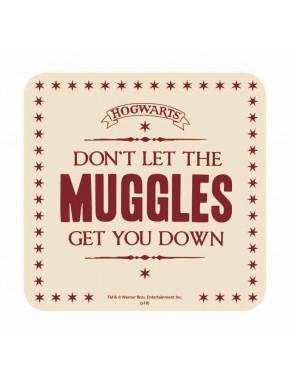 Set de 6 posavasos Muggles Harry Potter