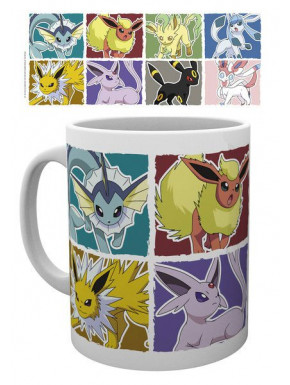 Taza Eevee Pokemon Evolution