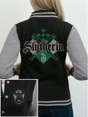 Sudadera Béisbol Harry Potter Slytherin