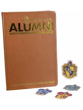 Set Cuaderno y Pegatinas Alumni Hogwarts Harry Potter
