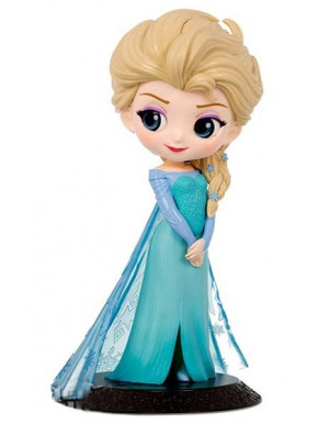 Figura Elsa Disney Banpresto Q Posket 14 cm Color Normal