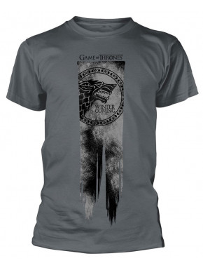 Camiseta Juego de Tronos Bandera Stark