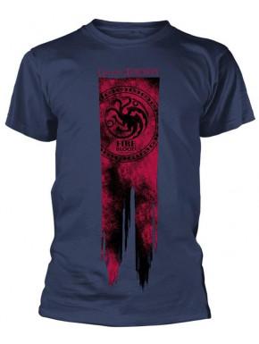 Camiseta Juego de Tronos Bandera Targaryen