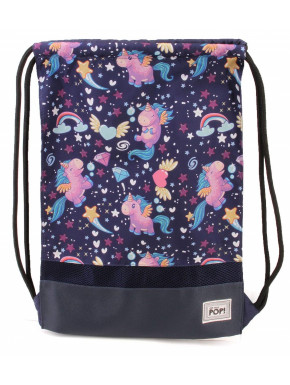 Saco Mochila Unicornios Kawaii Oh my pop!