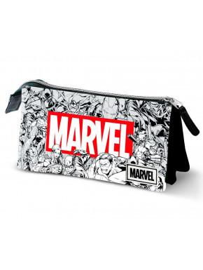 Estuche Portatodo Marvel Logo