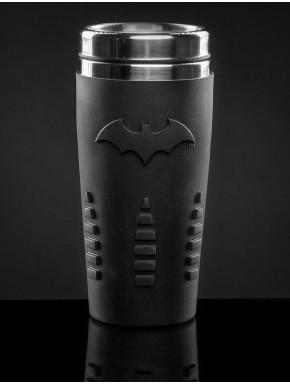 Termo y vaso de Viaje Batman caucho