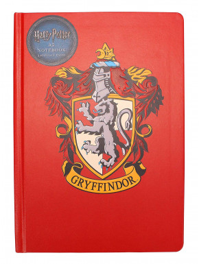 Libreta A5 Harry Potter Gryffindor