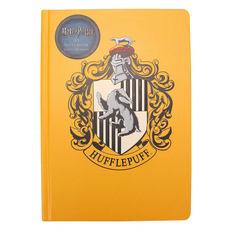 Libreta A5 Harry Potter Hufflepuff
