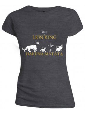 Camiseta Chica Disney Hakuna Matata El Rey León
