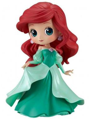 Figura Ariel Vestido Disney Banpresto Q Posket 14 cm