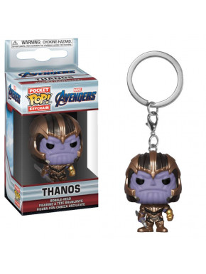 Llavero mini Funko Pop! Thanos Avengers: Endgame Marvel