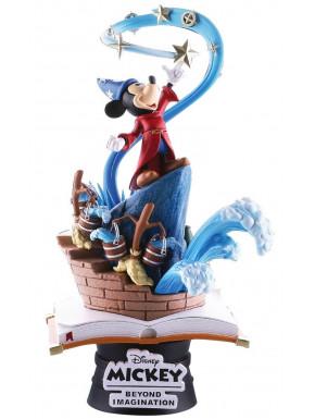 Figura Diorama Mickey Mouse Fantasía Disney Beast Kingdom 15 cm